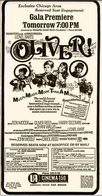 OLIVER! Directed by Sir Carol Reed