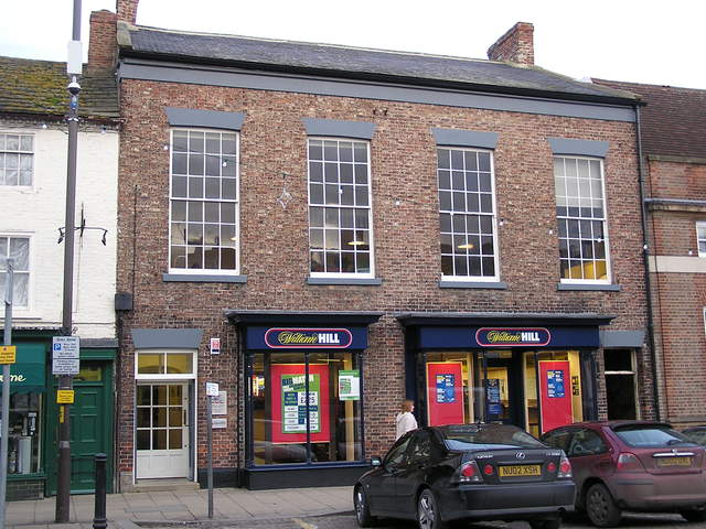 The front of the Bedale Cinema in January 2006