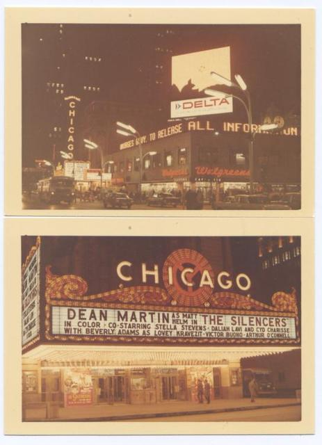 Chicago Theatre 1966
