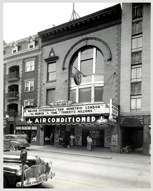 Henry's Theatre 1943