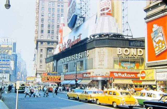 1956 photo courtesy of AmeriCar The Beautiful Facebook page.