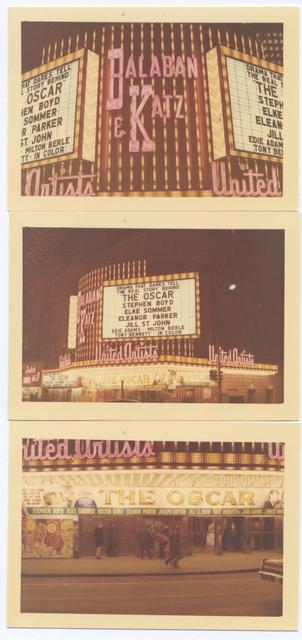 United Artists Theatre Marquee 1966