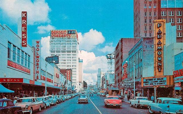 Circa 1958 photo courtesy of the AmeriCar The Beautiful Facebook page.