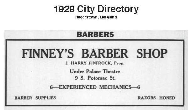 Finney's Barber Shop