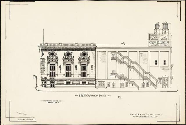 Bushwick Theater 1916