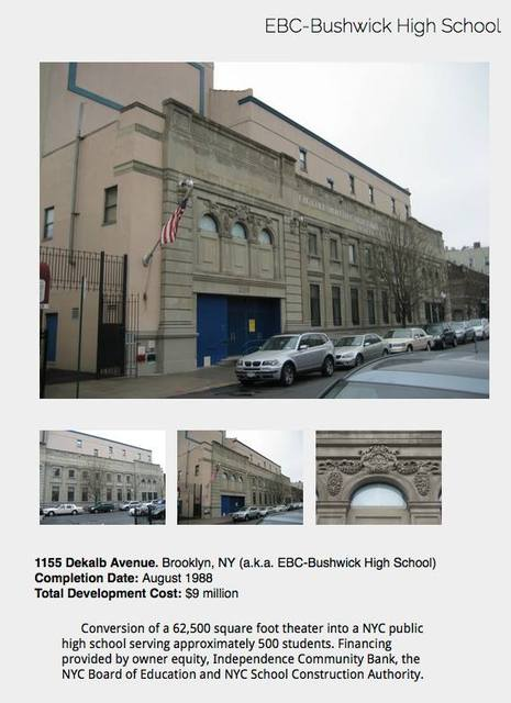 ECB-Bushwick High School