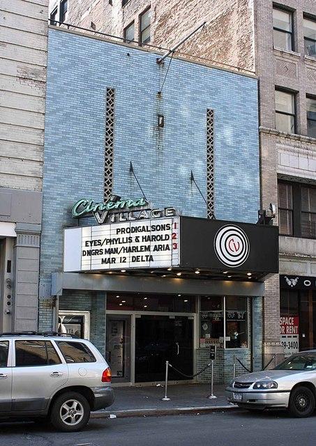 Cinema Village, New York City, NY