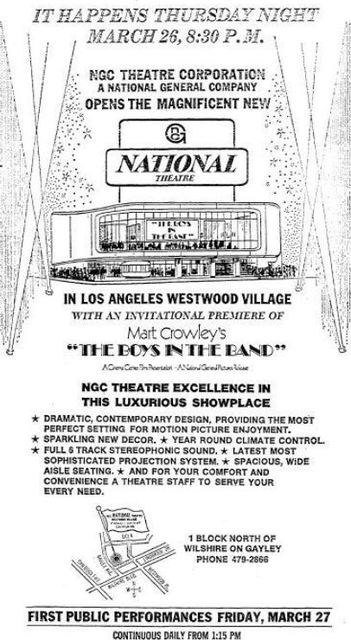 March 26th, 1970 grand opening ad