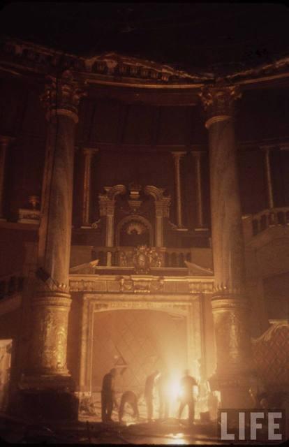 NYC ROXY Theatre interior demolished - 1960