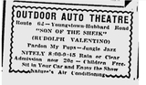 Outdoor Auto Theatre