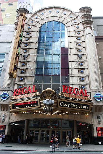 Regal E-Walk Stadium 13, New York City, NY