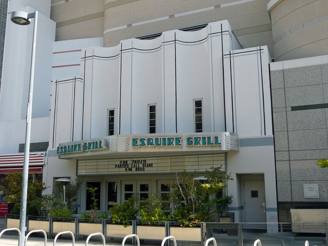 Encore Theatre (now Esquire Grill)