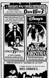 Advert for Westgate Mall Cinemas, Spartanburg, SC