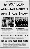 1944 War Bond Drive show