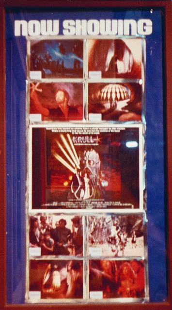 "Classic Cinema display case ""Krull"" 1980s"