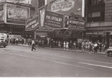 NYC Times Sq Paramount 1945