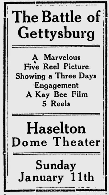 Hazelton Dome Theatre
