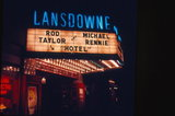 <p>Lansdowne Theater Marquee.  Photo credit Lew Wallace</p>