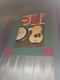 "Theater 22 Mural - ""Musical Instruments"""