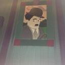 "Theater 26 Mural 1 - ""Charlie Chaplin"""