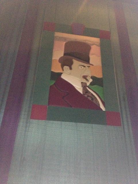 """Theater 26 Mural 2 - """"W.C. Fields"""""""