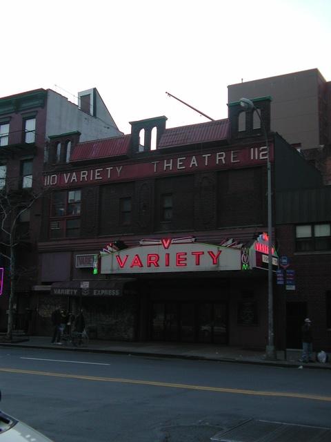 Variety Theatre - 2002