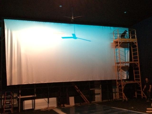 Screen Installation - Theatre 3