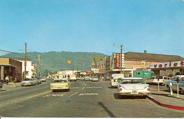 Redwood Theatre circa 1961