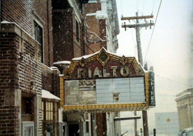 Rialto Theatre Marquee