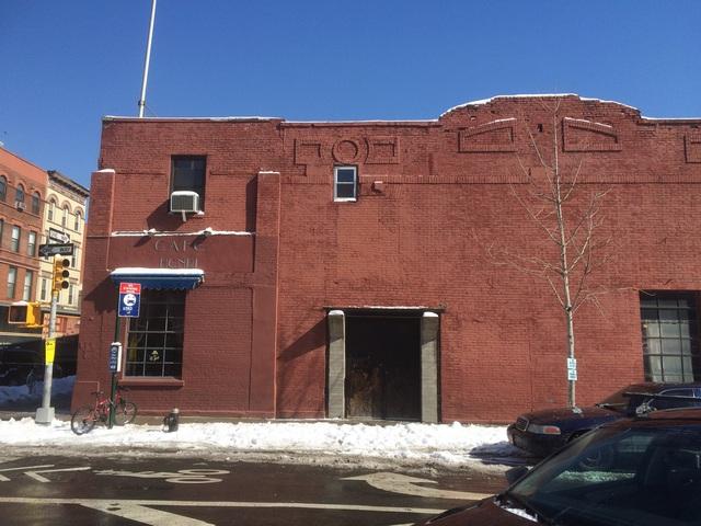 The former Vernon Theatre in March 2015