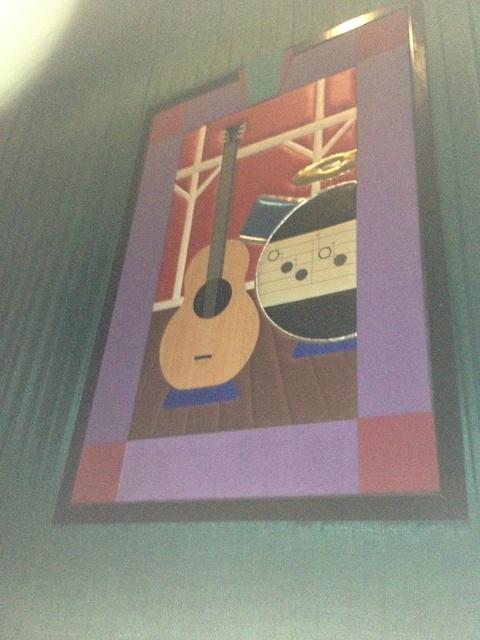 "Theater 10 Mural - ""Musical Instruments"" (Alt. Version)"
