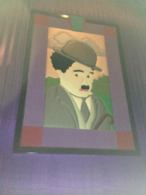 "Theater 11 Mural 1 - ""Charlie Chaplin"" (Alt. Version)"