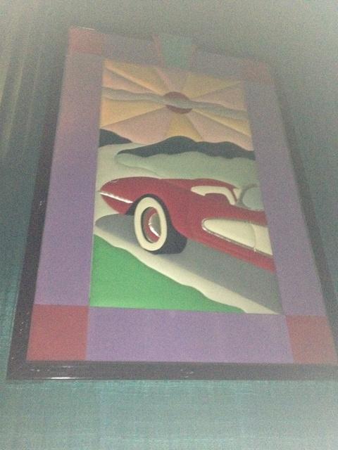 "Theater 12 & 15 Mural - ""Sports Car"""