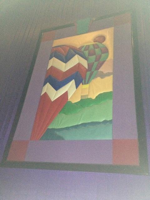 "Theater 13 Mural - ""Hot Air Balloons"""