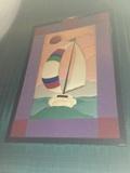 """Theater 14 Mural - """"Sailboat"""""""