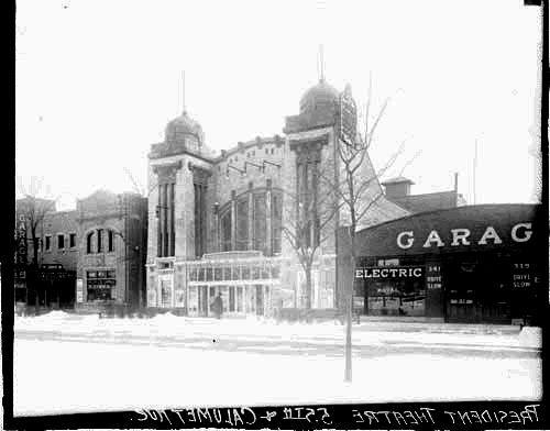 1916, President Theater, 343 E. 55th Place. Daily News photo.