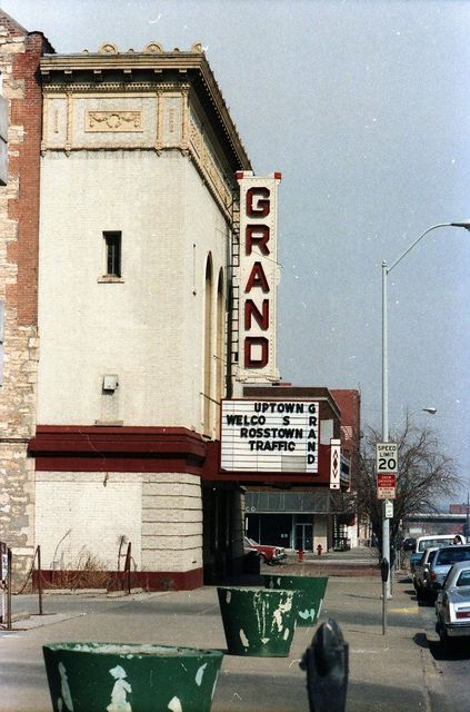 grand theater in topeka ks cinema treasures