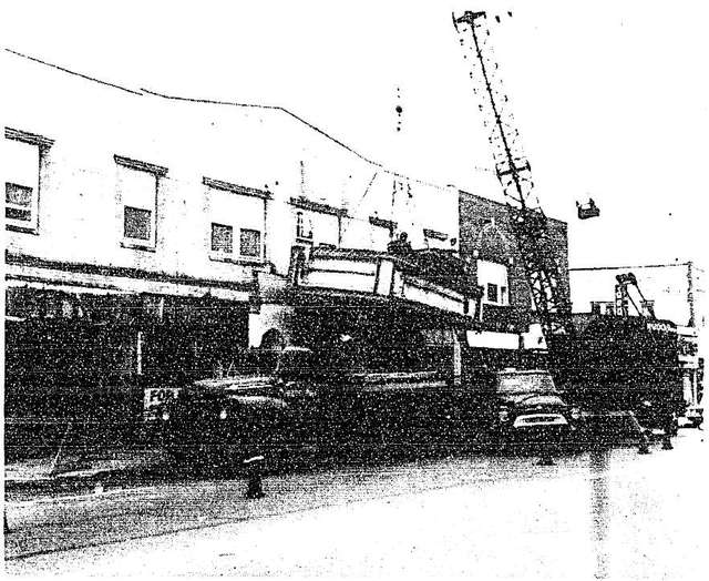 marquee removal  july 1966