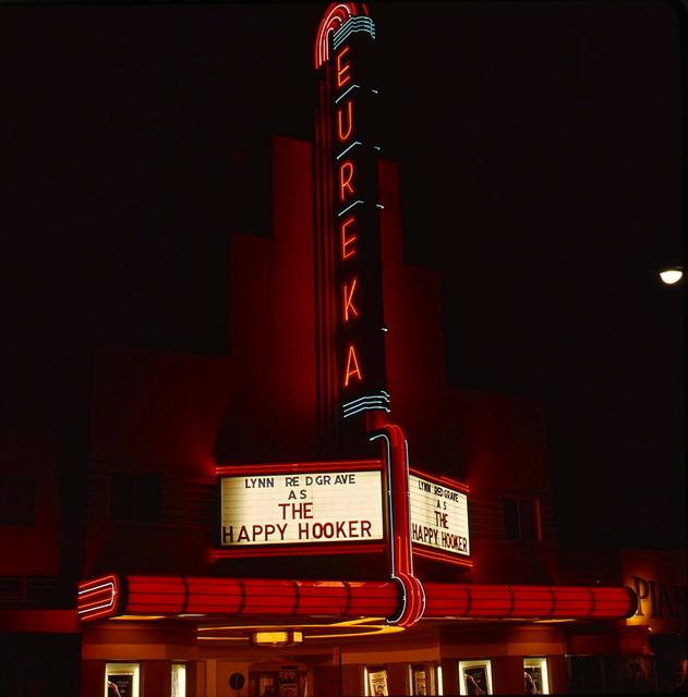Eureka Theater Neon 1975