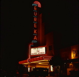 Eureka Theater Neon Sign 1975