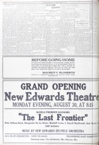 Ad for opening