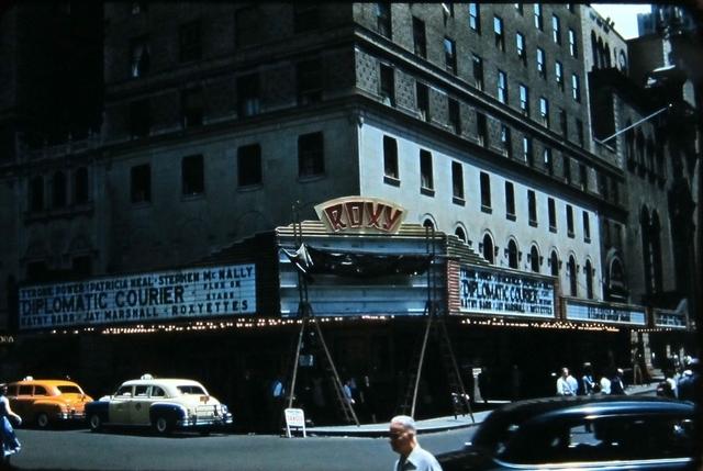 NYC ROXY Theatre 1952
