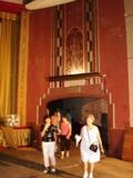 Auditorium exit in the Penn Theater