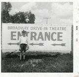 Broadway Drive-In circa 1949-1972