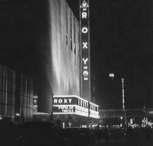 RKO Roxy Opening