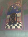 """Theater 1 Mural - """"Jukebox"""""""