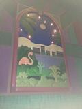 "Theater 6 Mural - ""Flamingo Pond"""