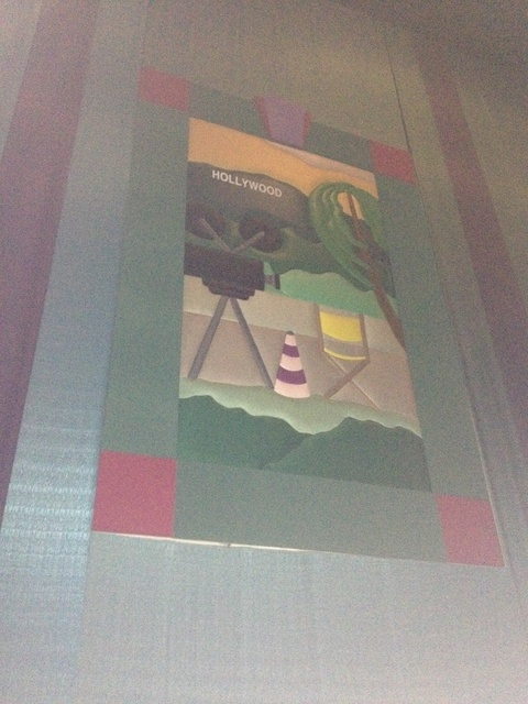 """Theater 10 Mural - """"Hollywood"""""""