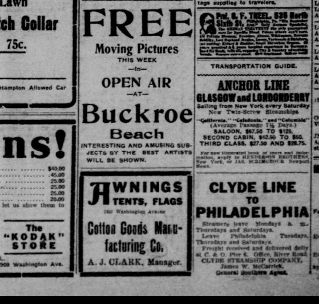 Buckroe Beach Theatre