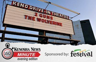 KENO Drive-In Theatre; Pleasant Prairie, Wisconsin.